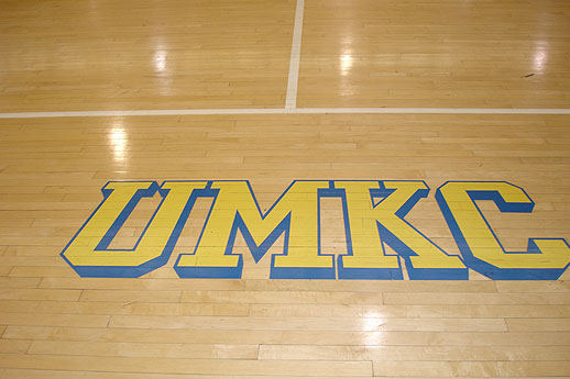 ... Gym Floor UMKC ...