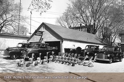 Vintage Acme Trucks